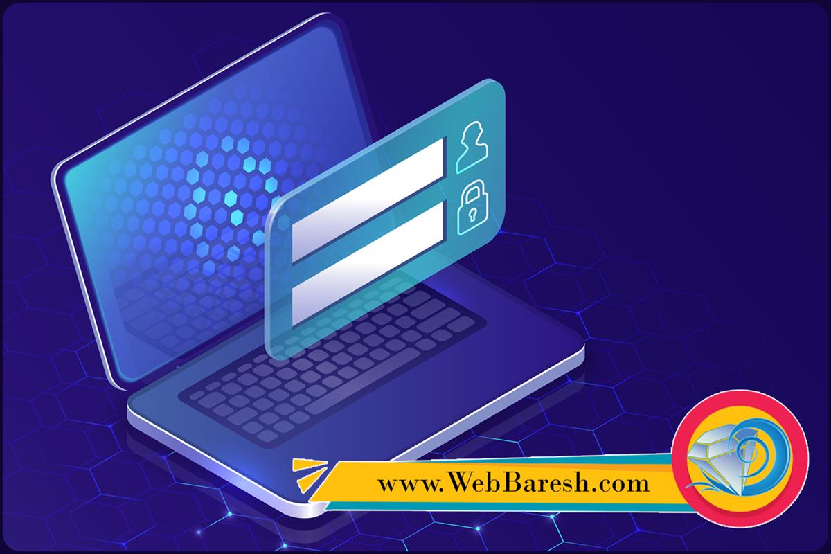 وب بارش - کیانوش کلانتری - طراحی وب سایت -تعریف مجدد رمز عبور به پنل وردپرس