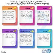 سایت وب بارش - تهیه و پشتیبانی وب سایت - 26 نکته اساسی، قبل از تولید وبسایت